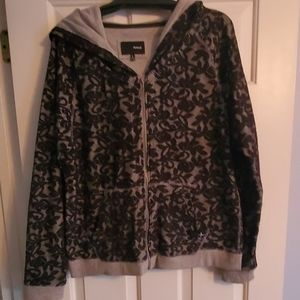 Hoodie Lace Zippered Jacket - Never Worn